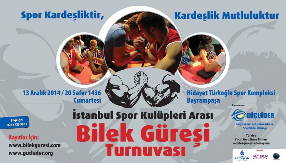 GÜÇLÜDER, İstanbul Bilek Güreşi Yarışması Düzenliyor