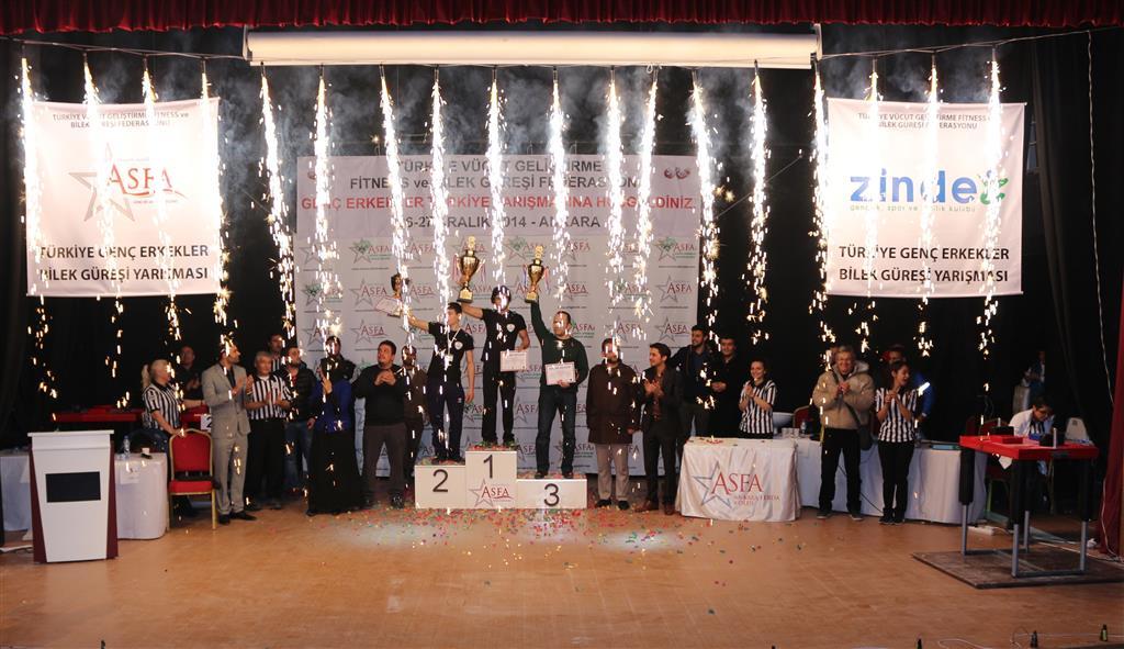 Zinde Gençlik, Türkiye'nin En Kapsamlı Bilek Güreşi Yarışmasına İmza Attı