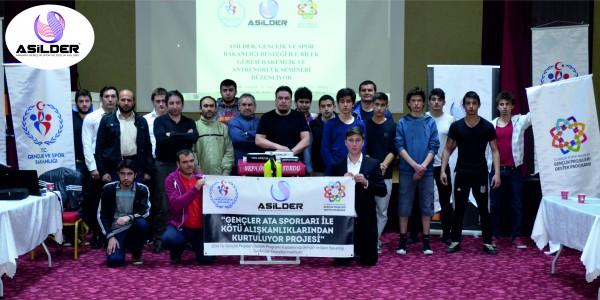 """Ankara Asilder, Proje Kapsamında """"Bilek Güreşi Antrenörlük ve Hakemlik Semineri"""" Serisi Başlattı"""