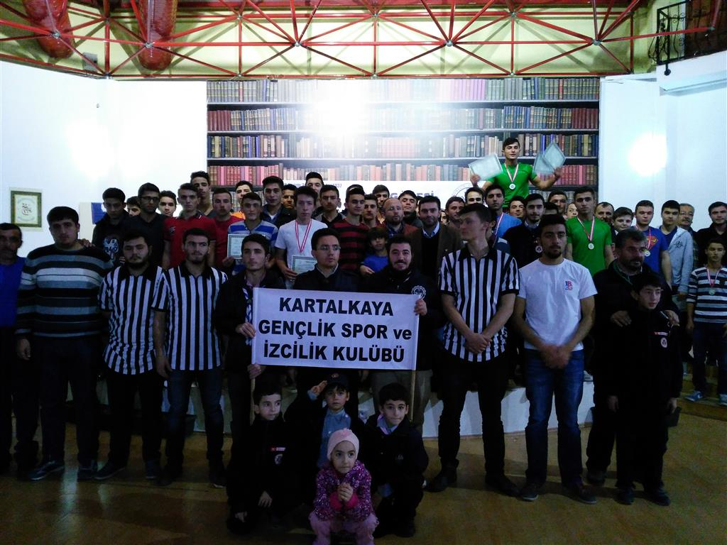Kartalkaya Gençlik, Bolu Genç Erkekler Bilek Güreşi Yarışması Düzenledi