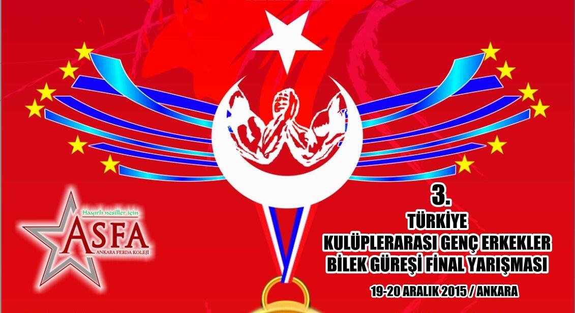 Zinde Gençlik ve ASFA'nın Düzenlediği 3. Türkiye Bilek Güreşi Yarışması Finali, 19-20 Aralık'ta Ankara'da Yapılıyor