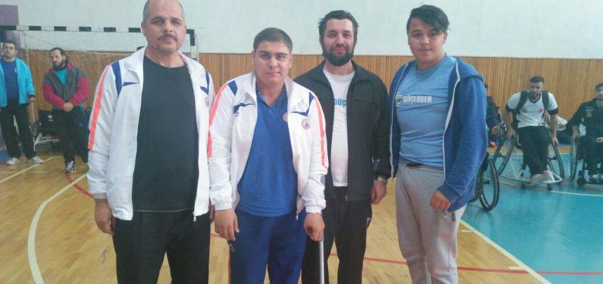 İstanbul GÜÇLÜDER, Bilek Güreşi Engelliler Türkiye Yarışması'nda 1 Gümüş Kazandı