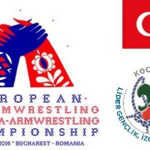 Kocaeli Lider Gençlik Bilek Güreşi Sporcuları, Yarışma İçin Avrupa'ya Gitti