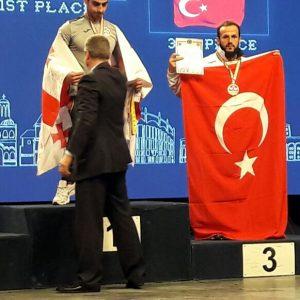 Kocaeli Lider Gençlik Bilek Güreşi Sporcusu, Avrupa Üçüncüsü Oldu