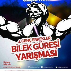 Zinde Gençlik ve ASFA'nın Düzenlediği 4. Türkiye Bilek Güreşi Yarışması Finali, 24-25 Aralık'ta Ankara'da Yapılıyor