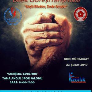 Sivas Gençlik, Cumhuriyet Üniversitesi'nde Bilek Güreşi Yarışması Düzenliyor