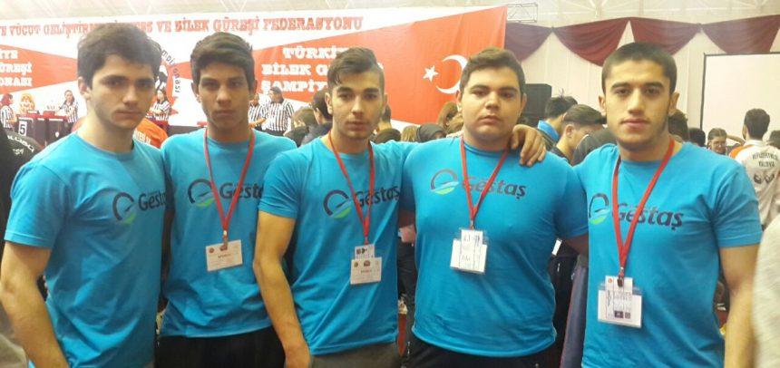 Çanakkale ÇASGED Bilek Güreşi Sporcusu, Türkiye Dördüncüsü Oldu
