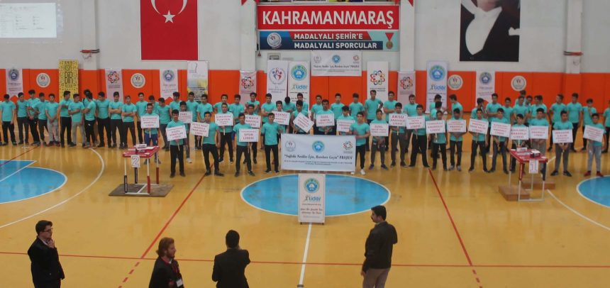"""Lider Gençlik,  """"5. Kahramanmaraş Genç Erkekler Bilek Güreşi Yarışması"""" Düzenledi"""