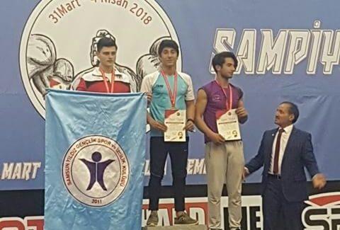 Kahramanmaraş Lider Gençlik Bilek Güreşi Sporcusu, Türkiye Birincisi Oldu