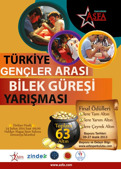 Türkiye Gençler Arası Bilek Güreşi Yarışması