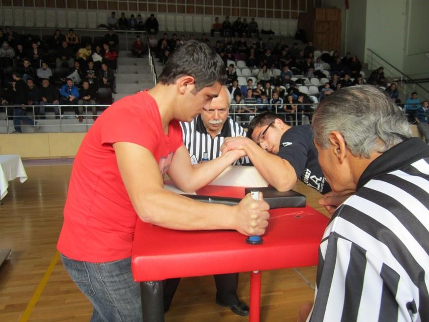 Liselerarası Bilek Güreşi Yarışması 2 Avrupa Yakası Ön Elemeleri