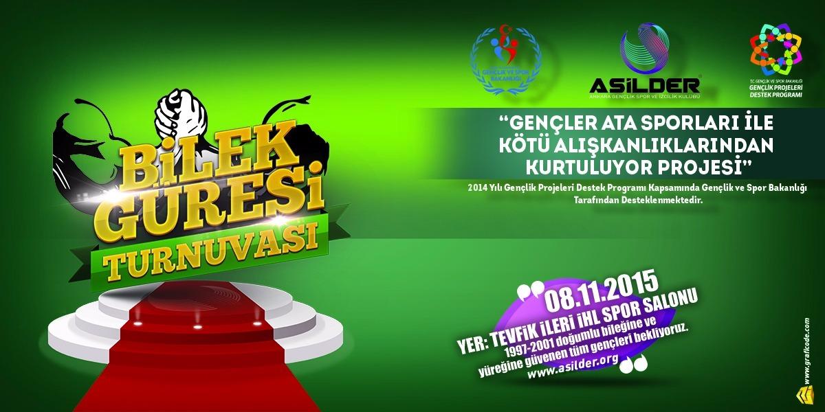 Ankara ASİLDER, Ankara Gençler Bilek Güreşi Turnuvası Düzenliyor