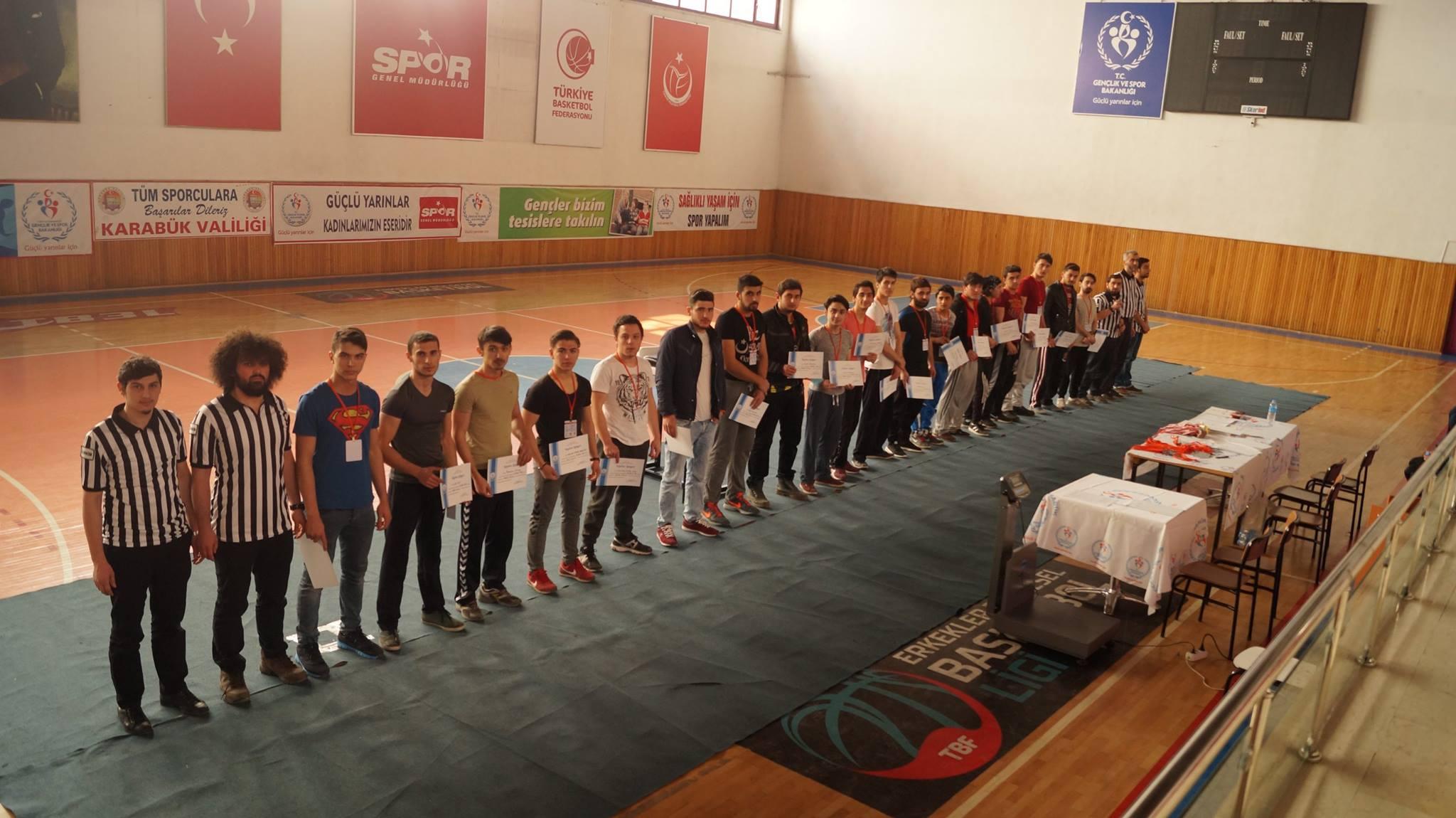 Karabük Genç Eksen, Karabük Bilek Güreşi Yarışması Düzenledi