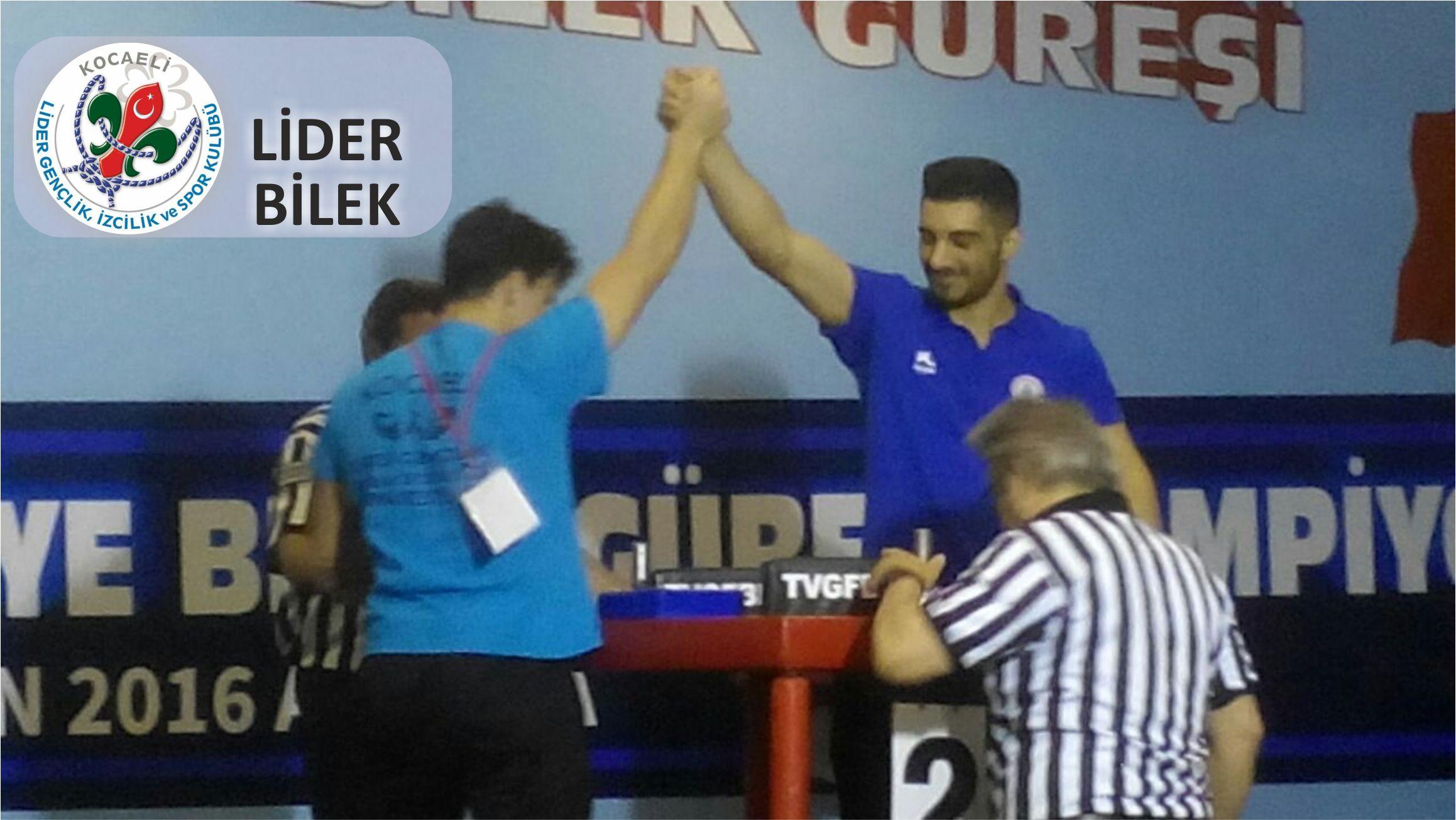 Kocaeli Lider Gençlik, Türkiye Bilek Güreşi Yarışması'ndan 2 Altın, 2 Gümüş, 1 Bronzla Döndü