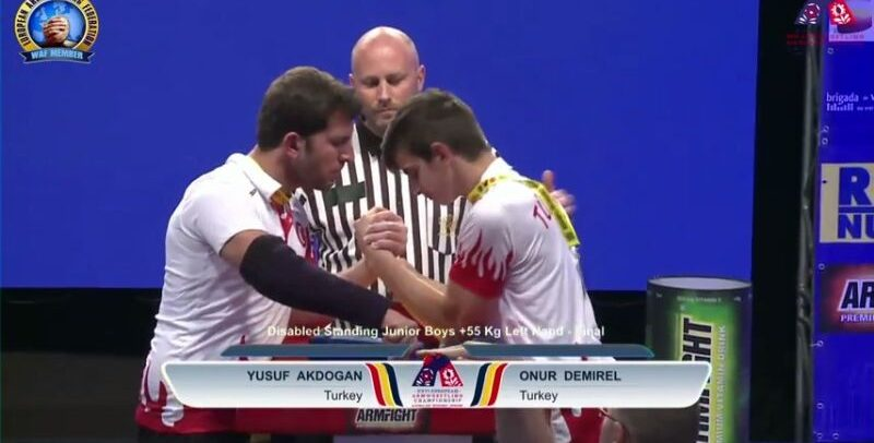 Kütahya Zinde Gençlik Sporcusu, Avrupa'da Yine Birinci Oldu