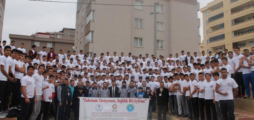 """Lider Gençlik, """"4. Kahramanmaraş Genç Erkekler Bilek Güreşi Yarışması"""" Düzenledi"""