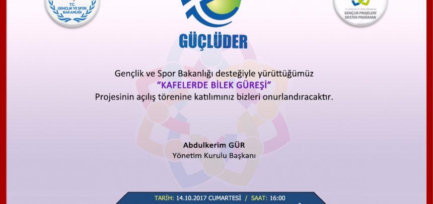 """İstanbul GÜÇLÜDER, """"Kafelerde Bilek Güreşi"""" Projesini Başlatıyor"""