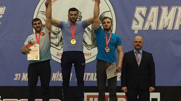 AĞÇED Bilek Güreşi Sporcusu Türkiye'yi Temsil Edecek