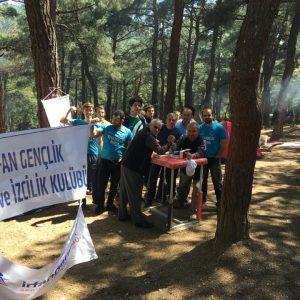 Bursa İrfan Gençlik, Kent Ormanı'nda Bilek Güreşini Tanıttı